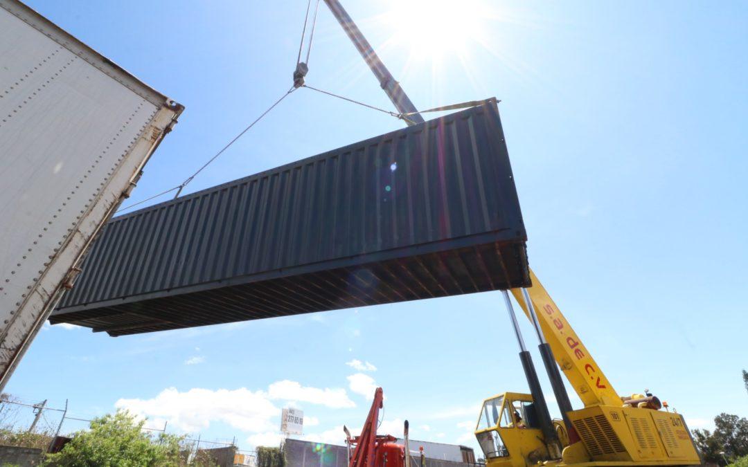 Grúas industriales hasta 75 toneladas